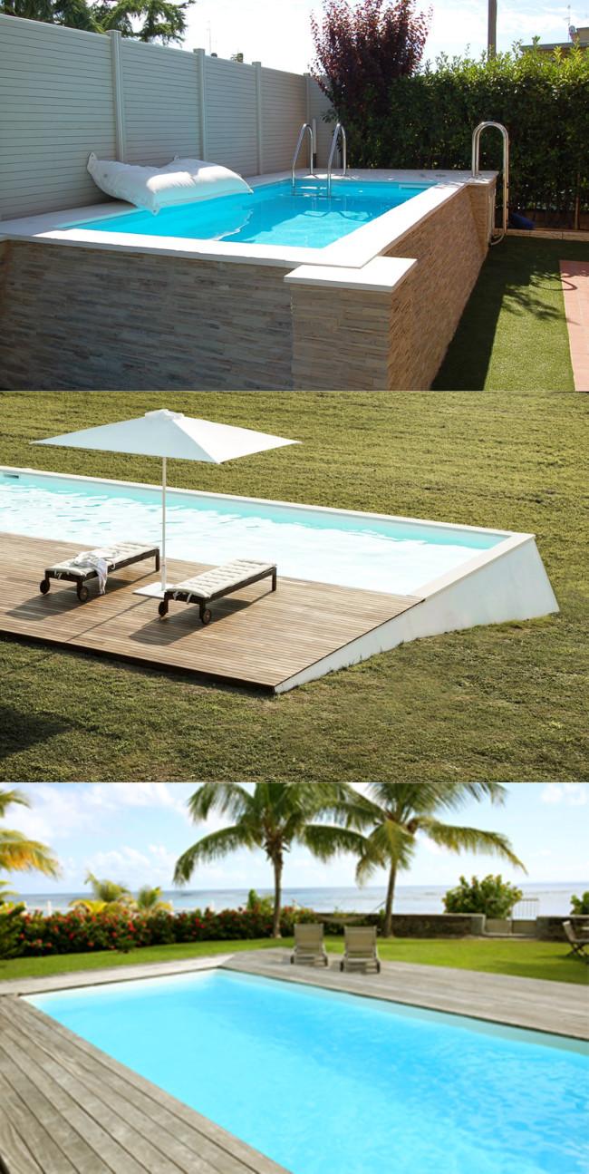 Piscine fuori terra in eps novit piscine amovibili - Piscine semi interrate ...